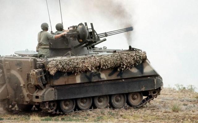 M163A2 Vulcan