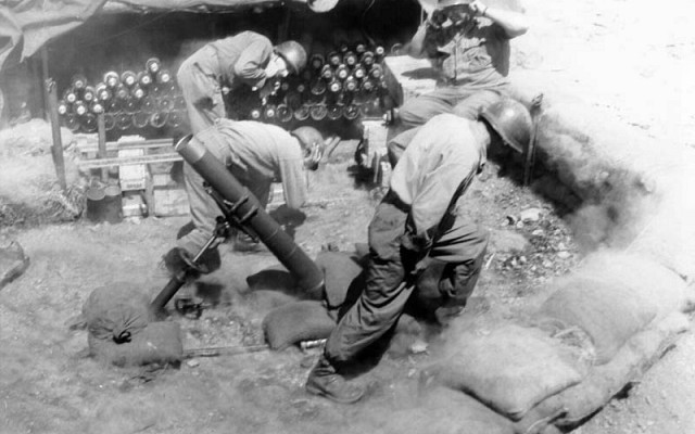 107mm M2 Chemical Mortar