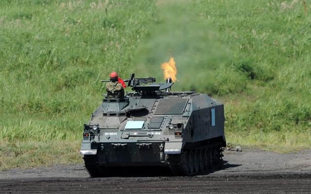 Type 96 self-propelled mortar