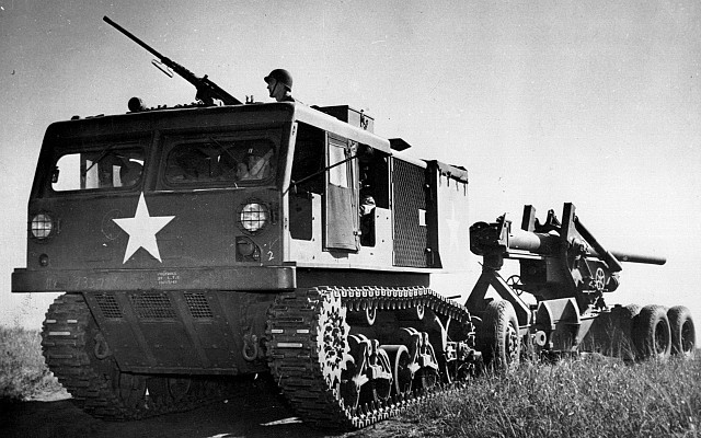 M4 High Speed Tractor and Long Tom