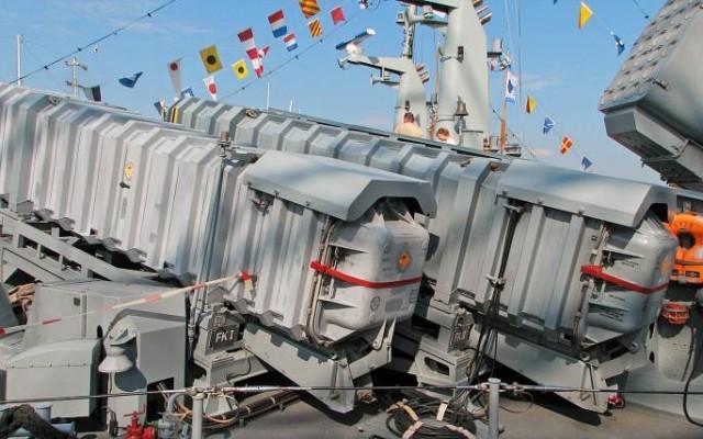 MM38 Exocet launcher