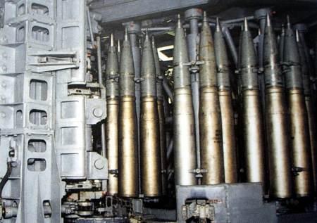 AK-130 loading sytem