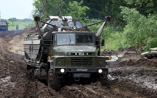 KrAZ-260 with BMK-460