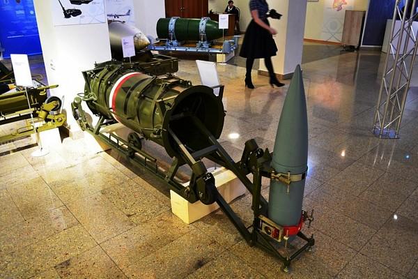 Soviet 203mm nuclear shell