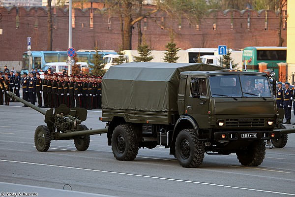 KAMAZ-43501 with 85mm D-44