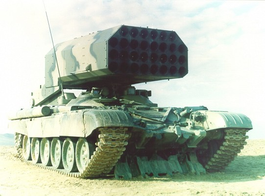 TOS-1 launch vehicle