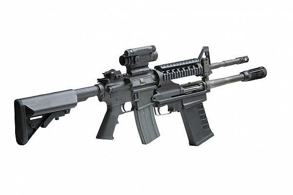 M26 MASS on M4 carbine