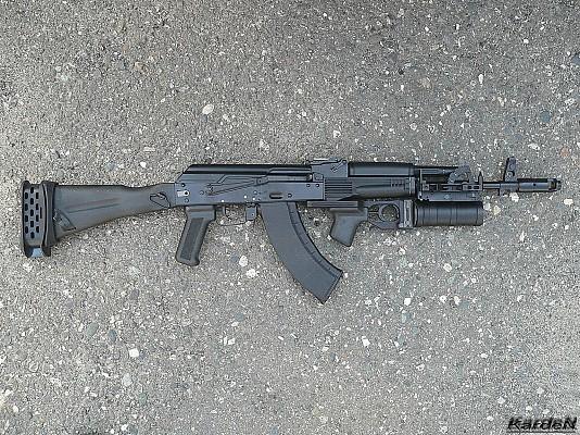AK-103 with GP-34