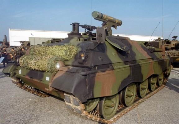 Jagdpanzer Jaguar with K3S launcher