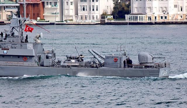 GDM-A naval turret