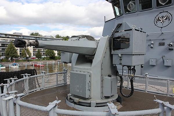 MLG 27 naval gun