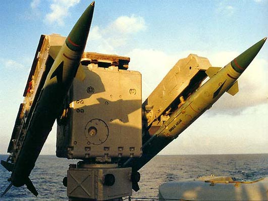 ZIF-122 with 9M33M missiles