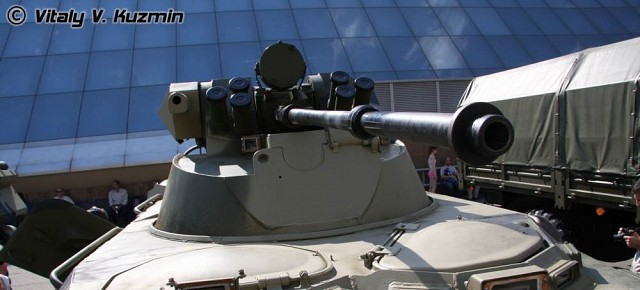 BTR-80A with 2A72