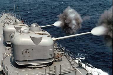 Mk 42 naval gun turret